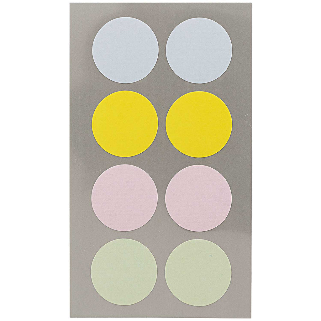 Sticker Pack - Pastel Dots 25mm