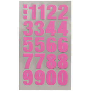Sticker Pack - Pink Numbers