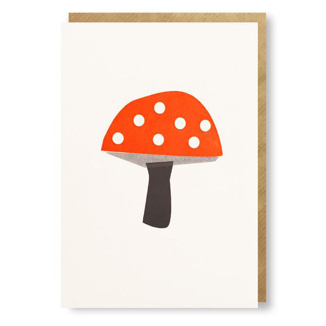Bits and Bobs Toadstool Mini Card