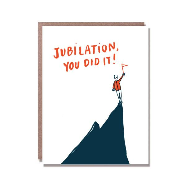 Jubilation You Did It! Congrats Greetings Card
