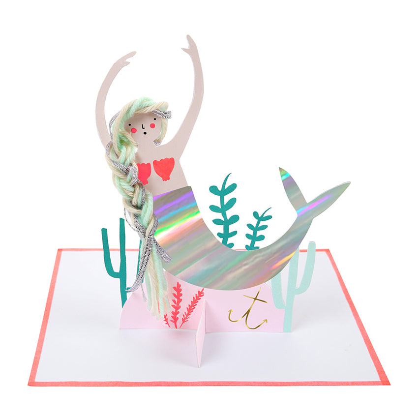 Mermaid Pop Up Card