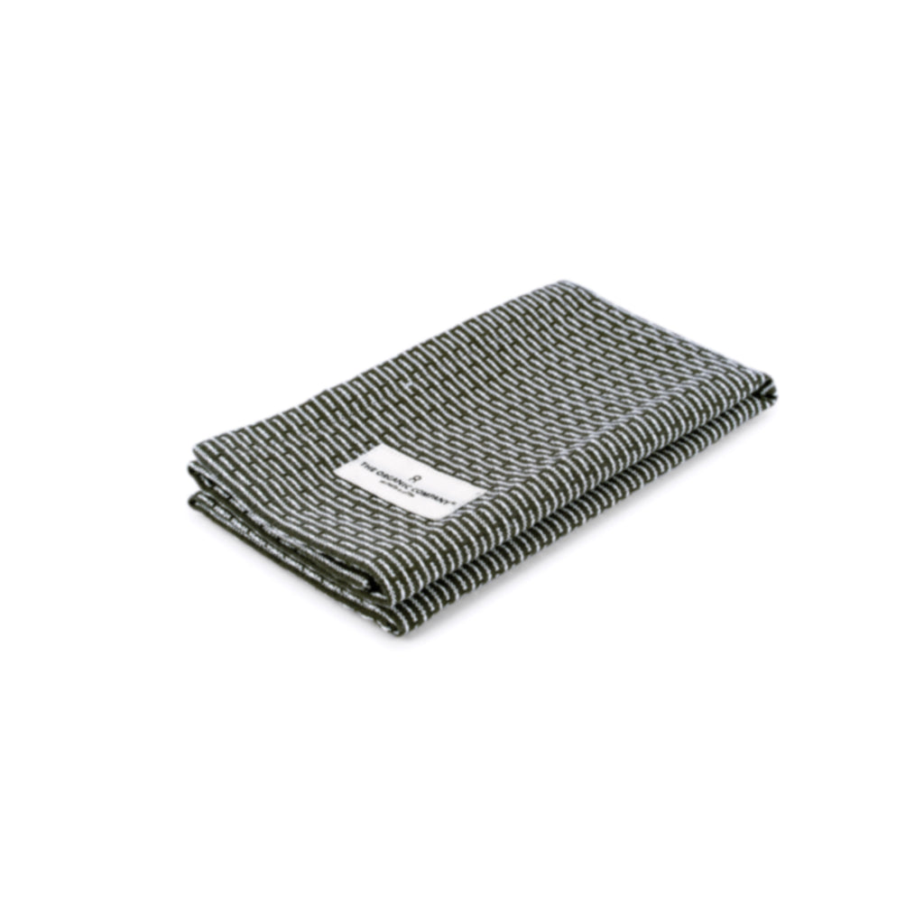 Organic Kitchen & Wash Cloth - Evening Grey