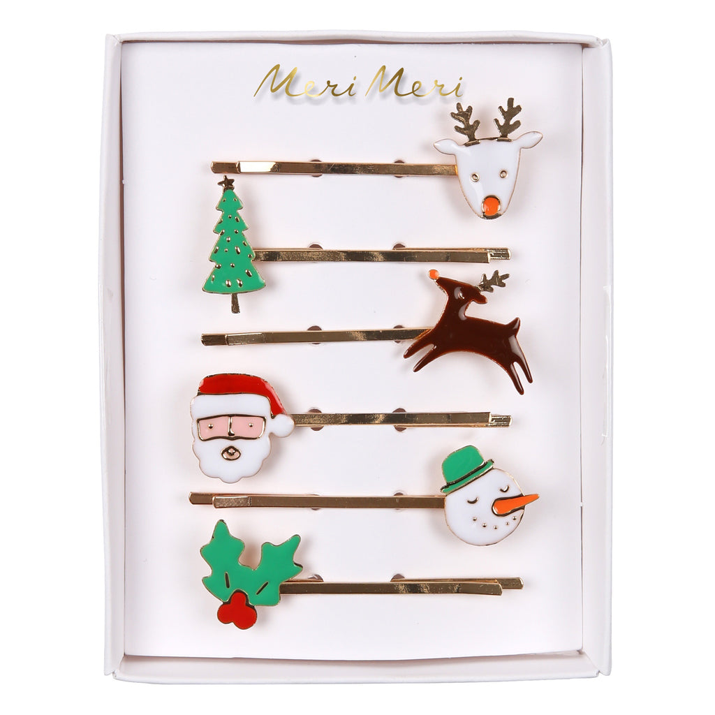 Christmas Character Hair Slides