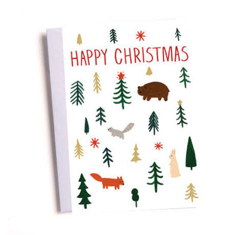Kate Pugsley Snowball Christmas Card