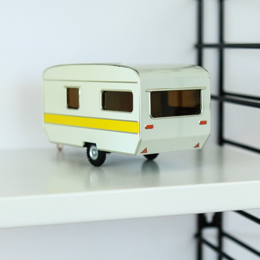 Tin Caravan Ornament