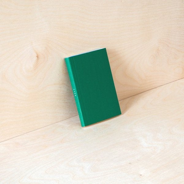 A6 Pocket Layflat Weekly Planner in Green/Blue