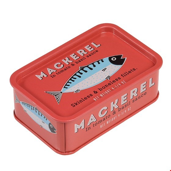Fishy Little Tins - Mackerel