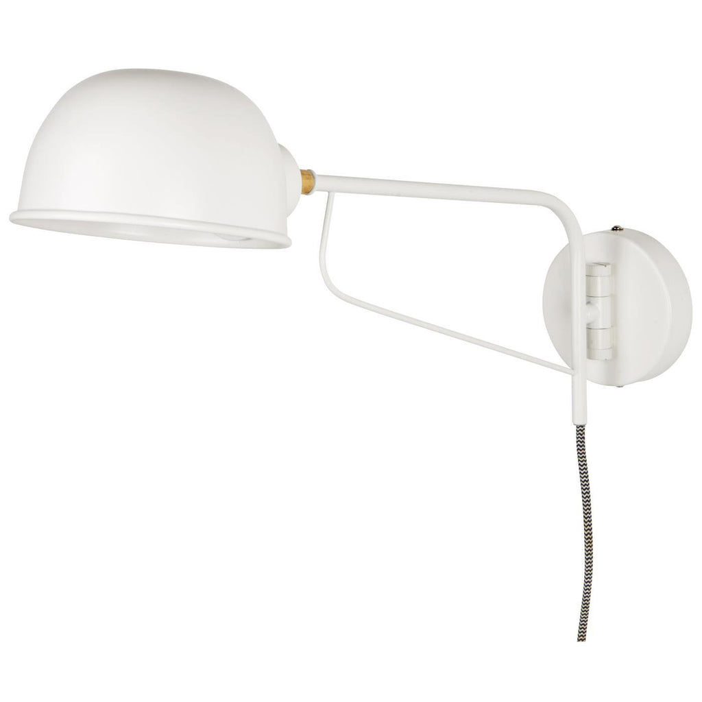 Swinging Wall Lamp - White