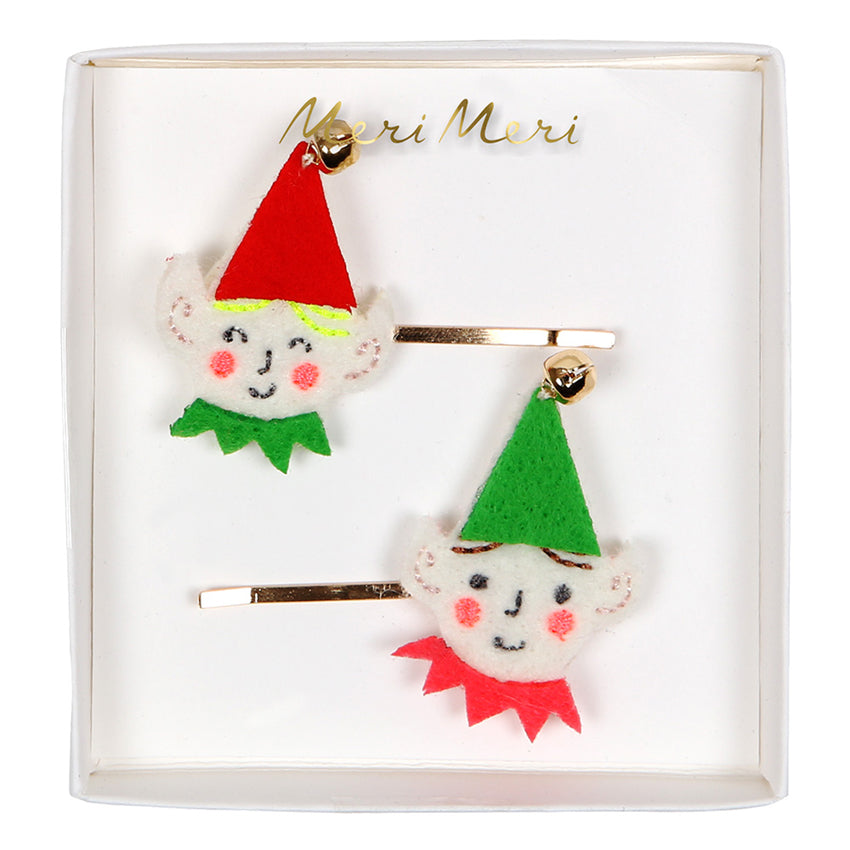 Christmas Elf Hair Slides