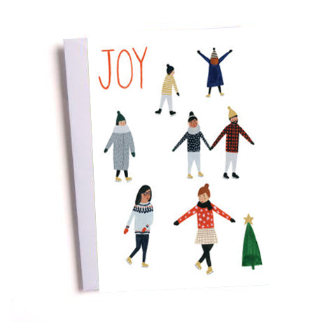Kate Pugsley Skating Joy Christmas Card