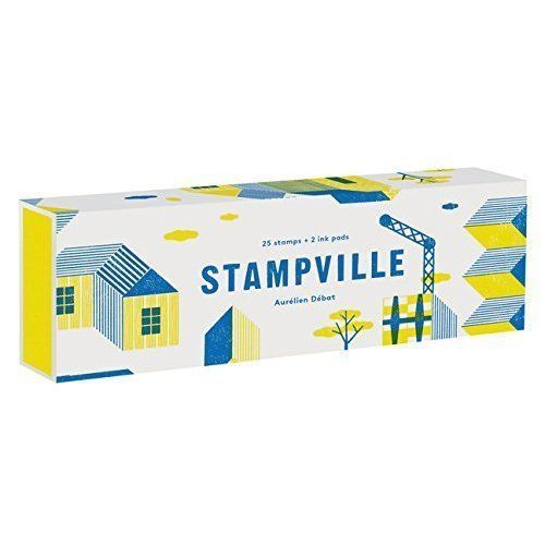 Stampville Rubber Stamp Set