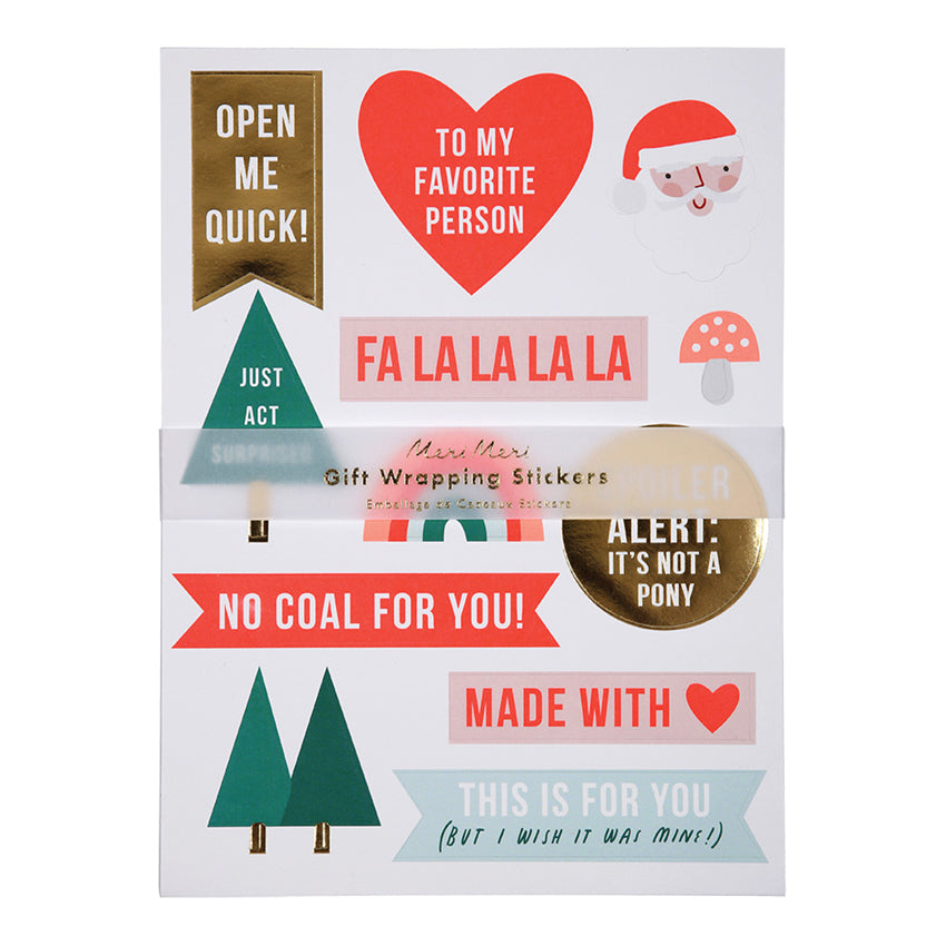 Festive Christmas Stickers