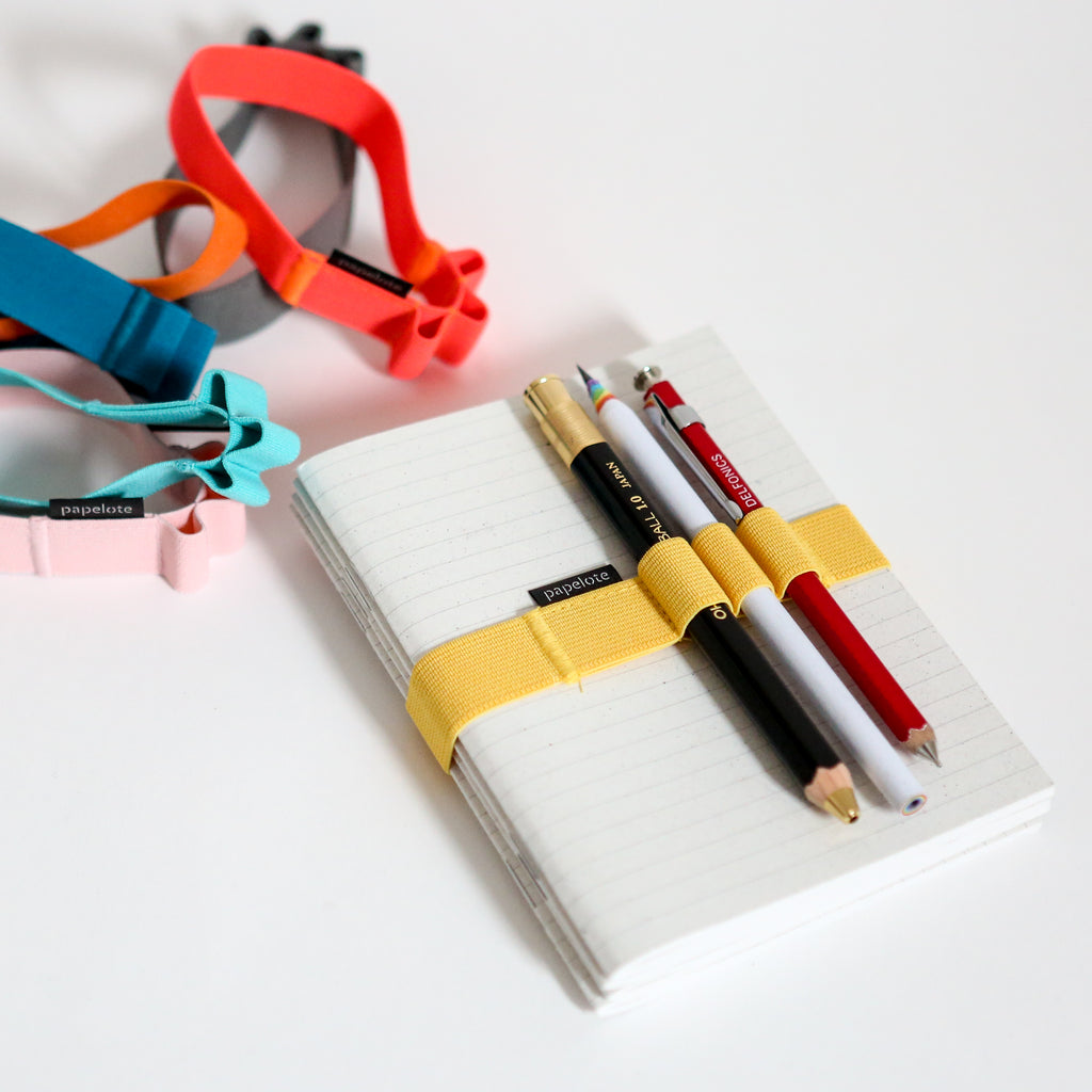A6 Elastic Notebook Strap