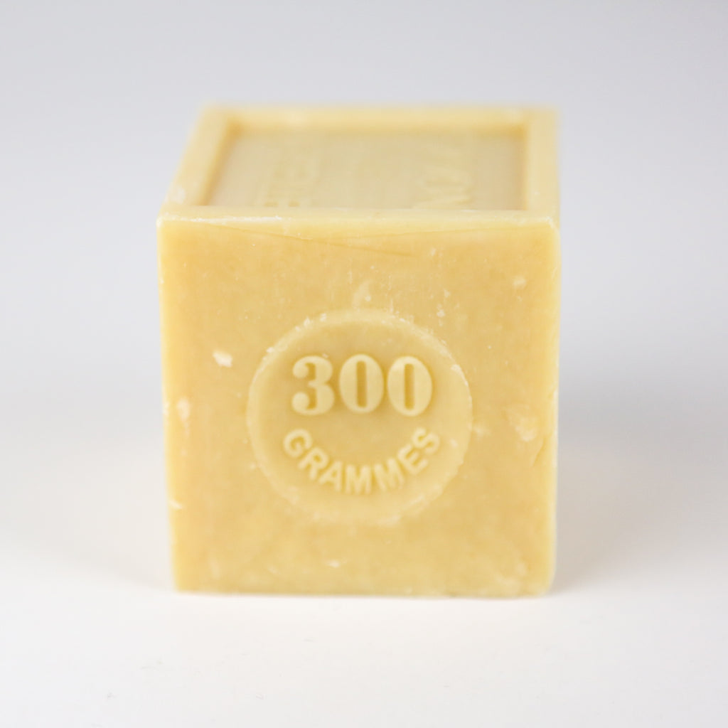 Large Marseille Household Soap Cube - Natural