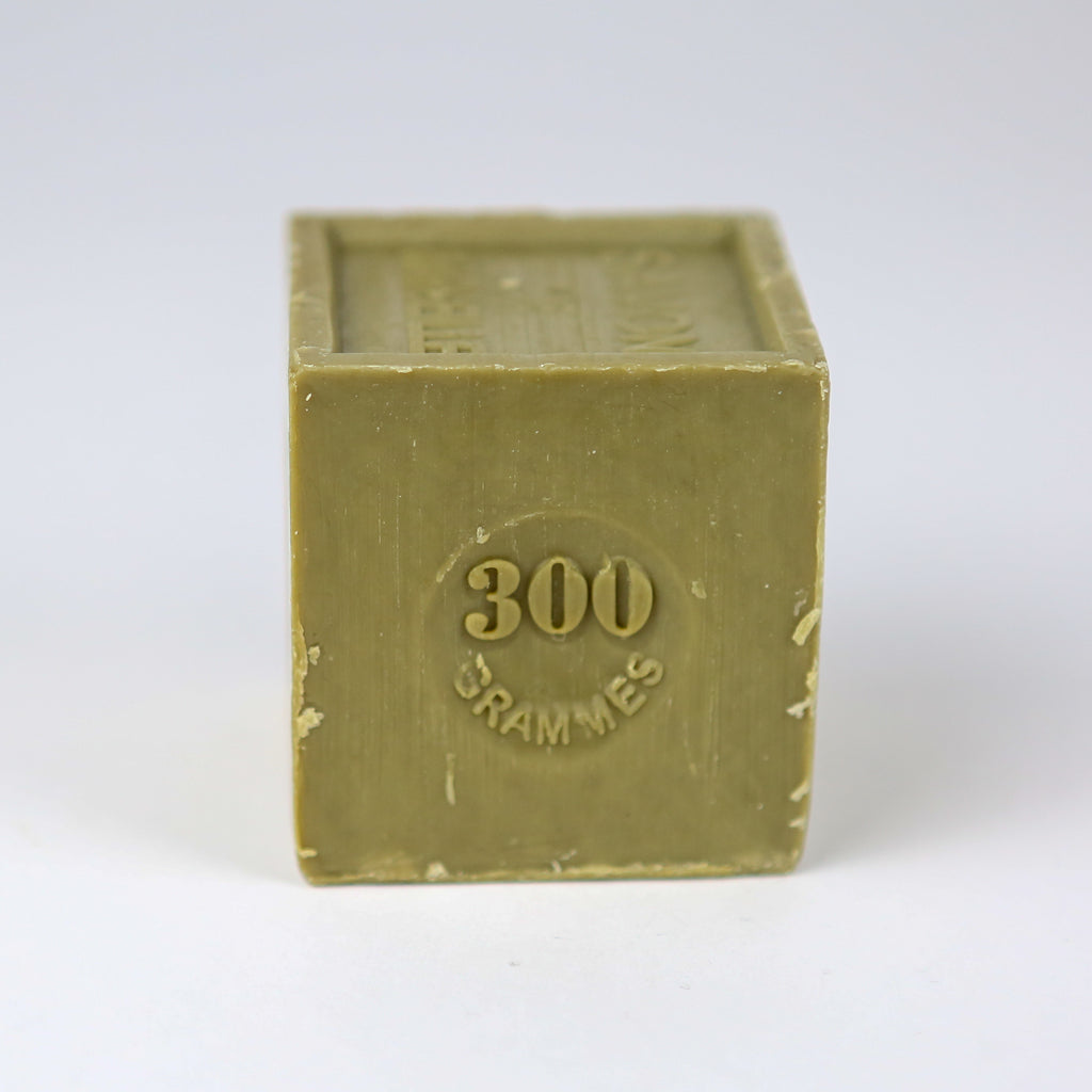 Large Marseille Household Soap Cube - Olive