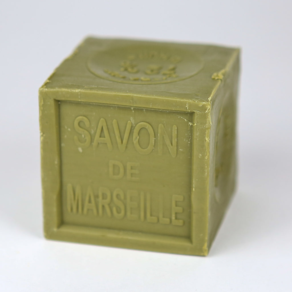 Giant Marseille Household Soap Cube - Olive