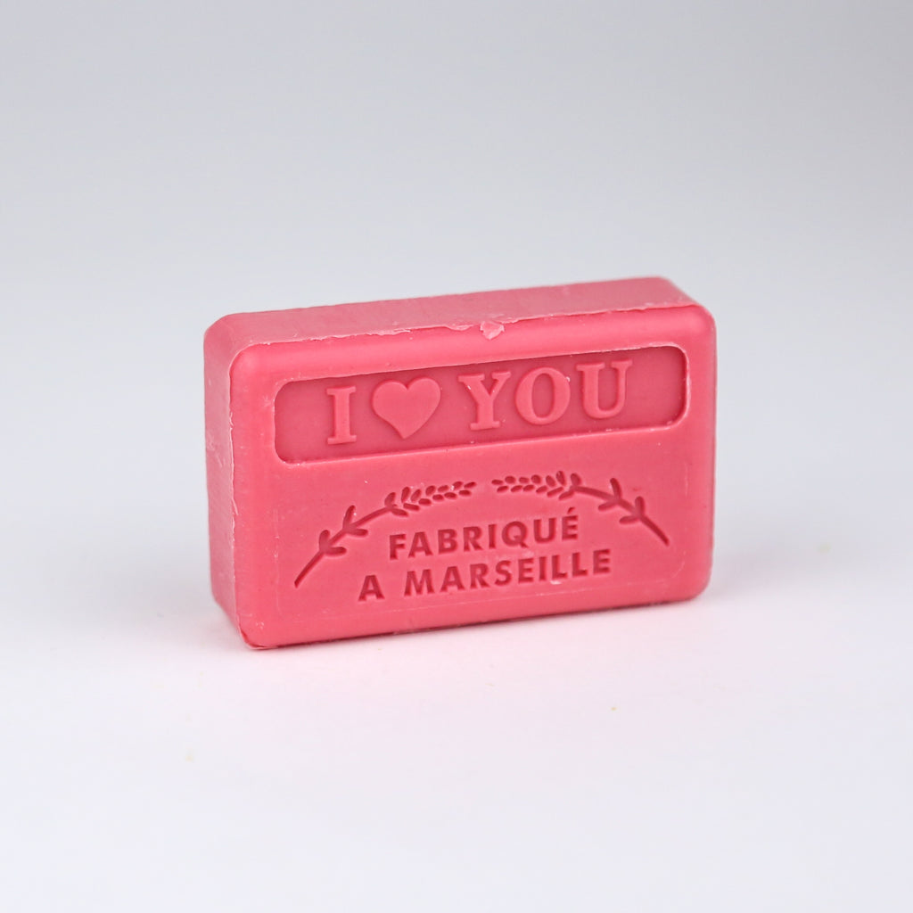 'I Love You' Traditional Marseille Soap 125g