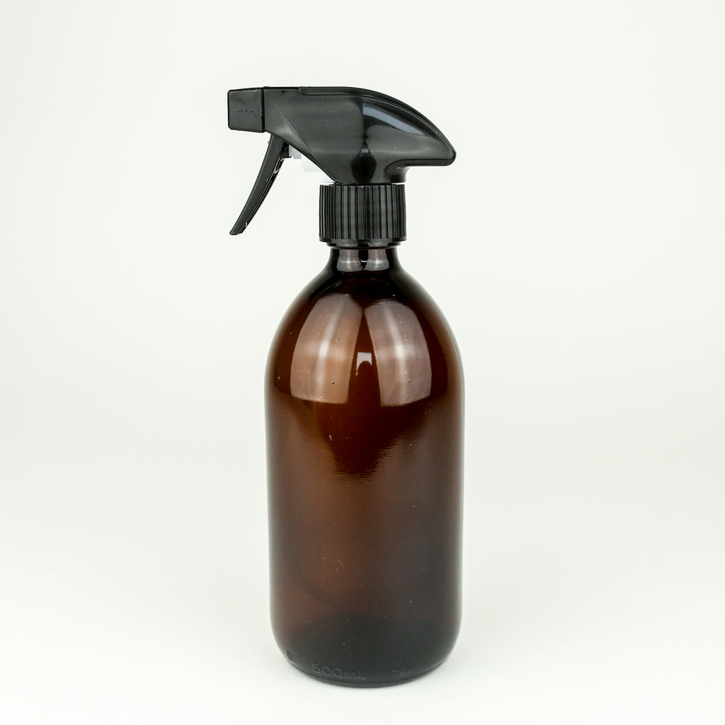 500ml Empty Amber Glass Spray Bottle