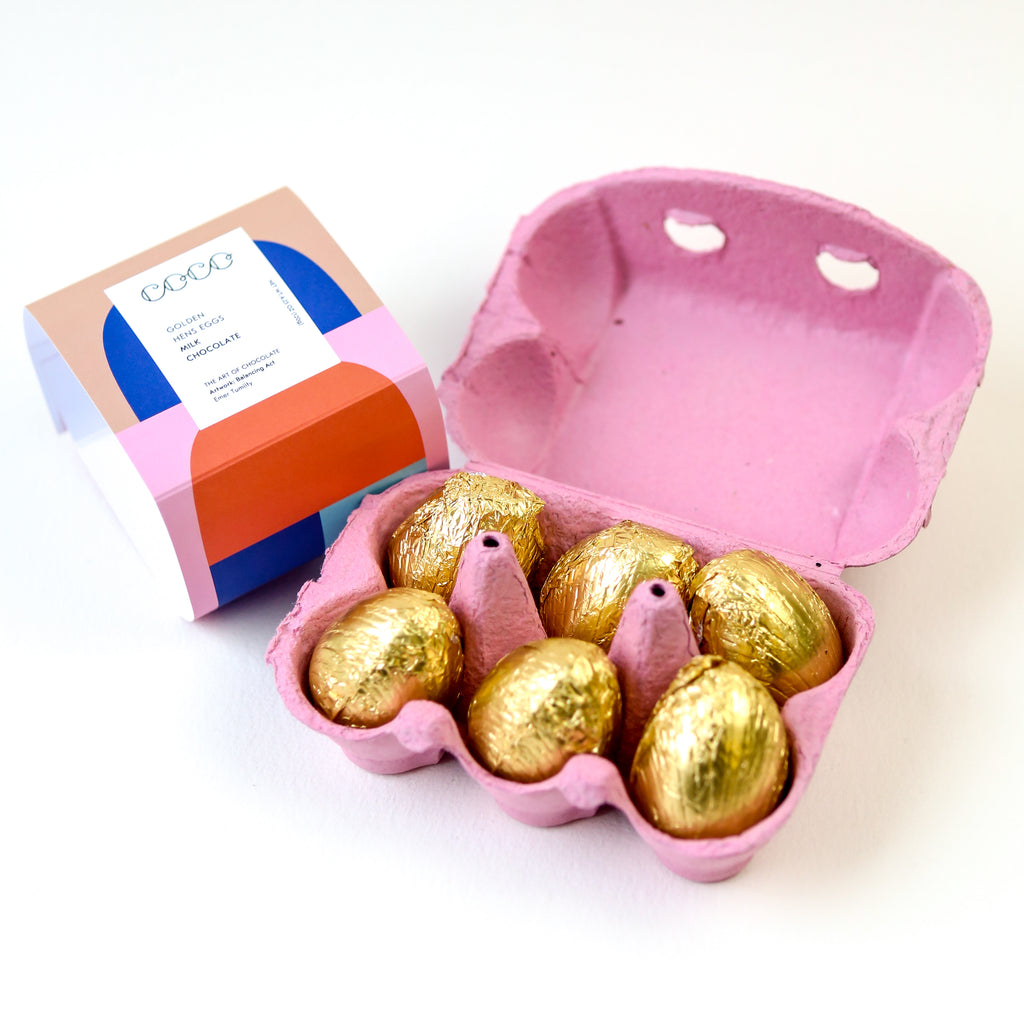 Golden Hens Eggs - Milk Chocolate