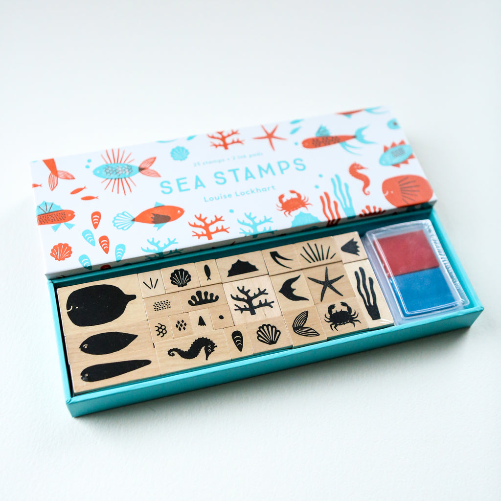 Sea Stamps Stamp Set