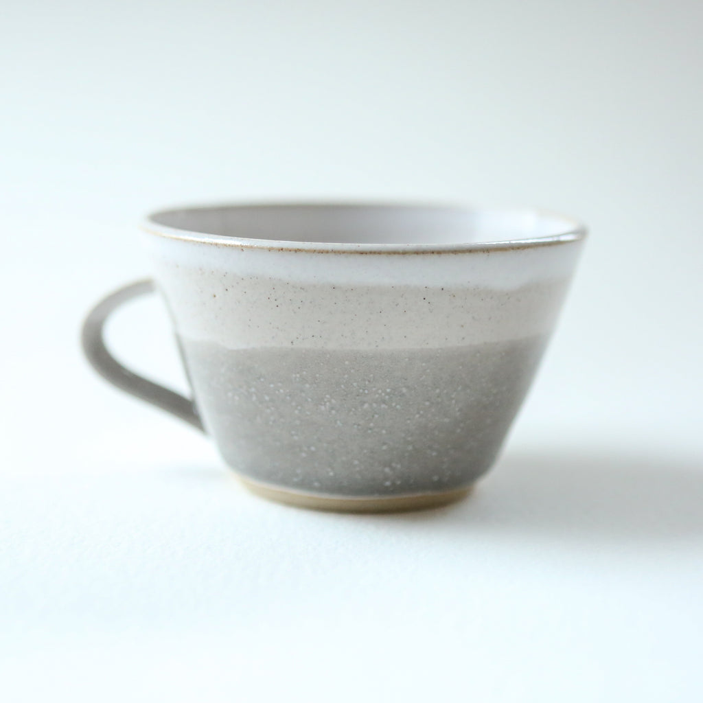 Hand Thrown Dinky Cup - Misty Morning