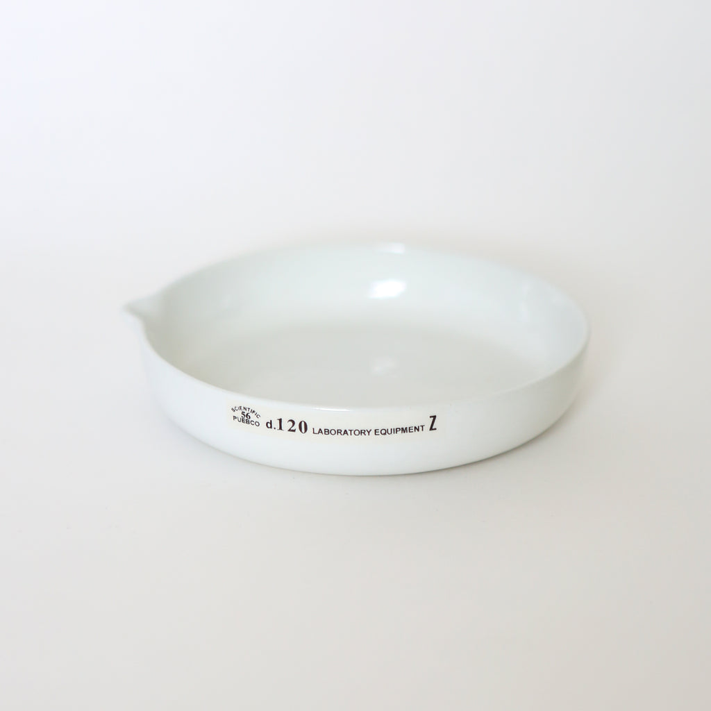 Ceramic Laboratory Plate - Small