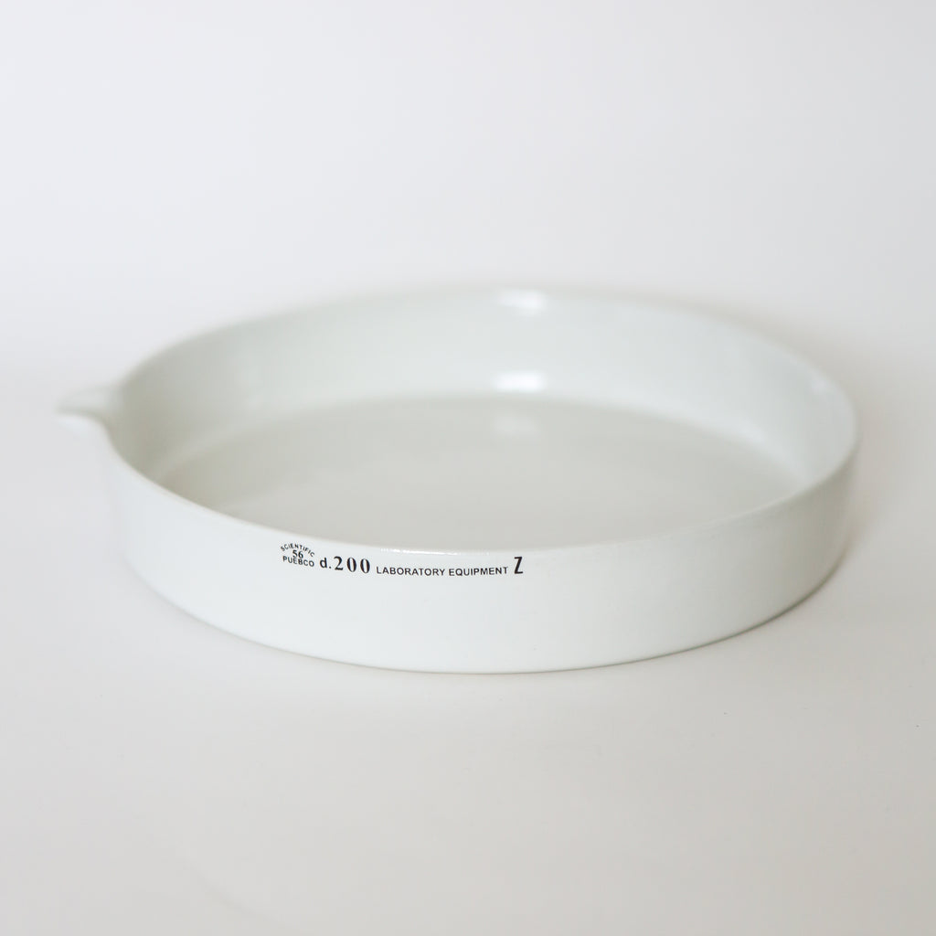 Ceramic Laboratory Plate - Large