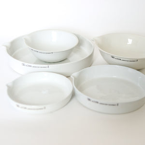 Ceramic Laboratory Plate - Medium