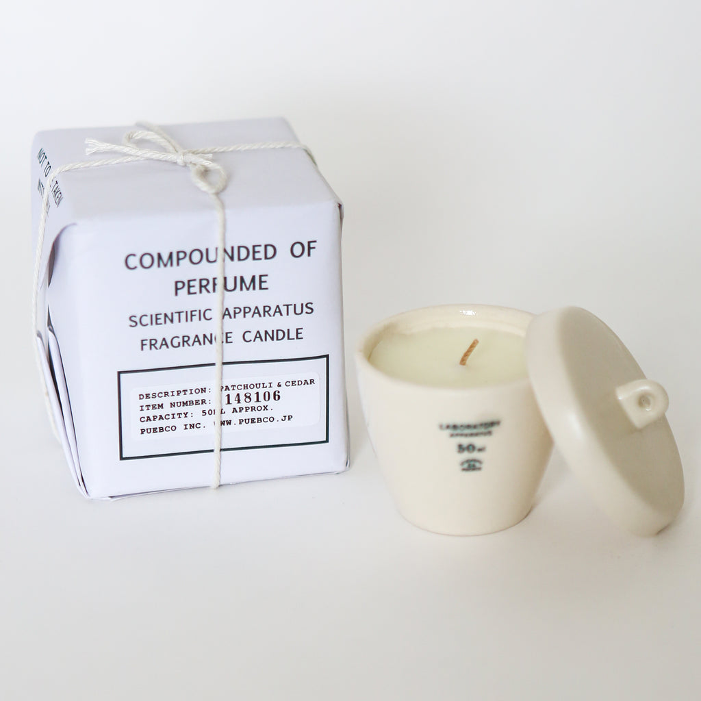 Scientific Candle - Patchouli & Cedar