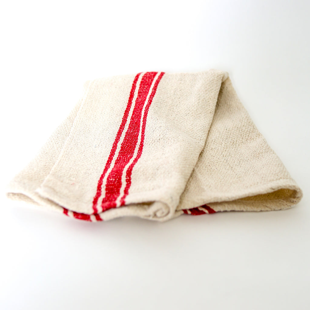 India Cloth - Red Stripe