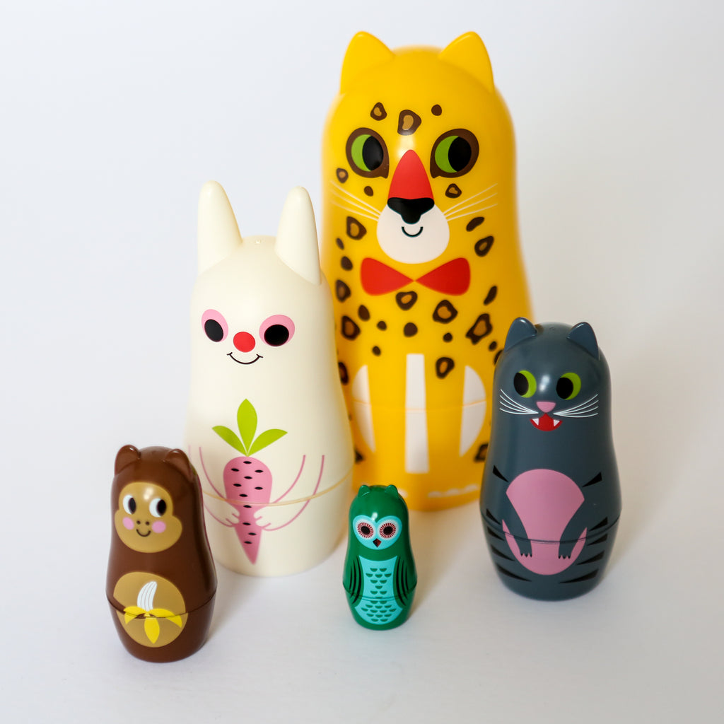 Animal Russian Doll Set