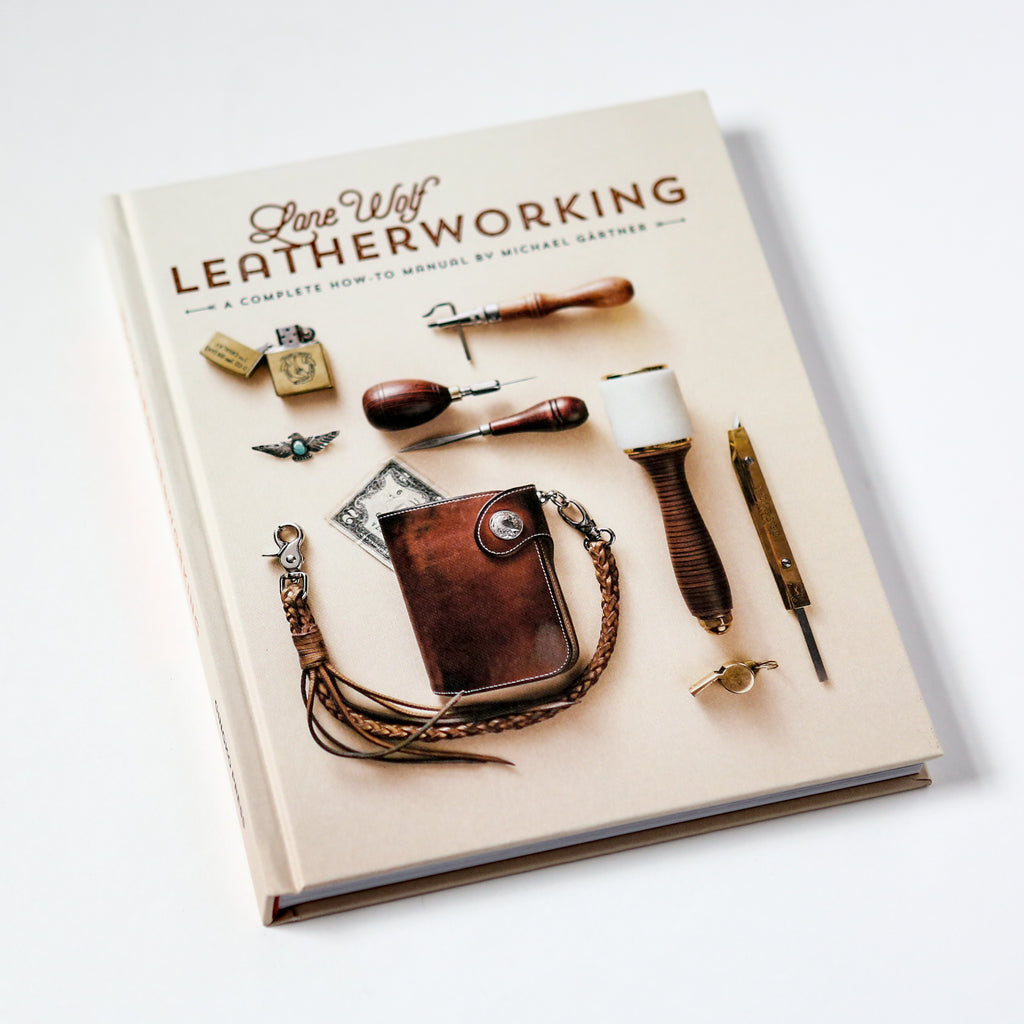Lone Wolf Leatherworking Book