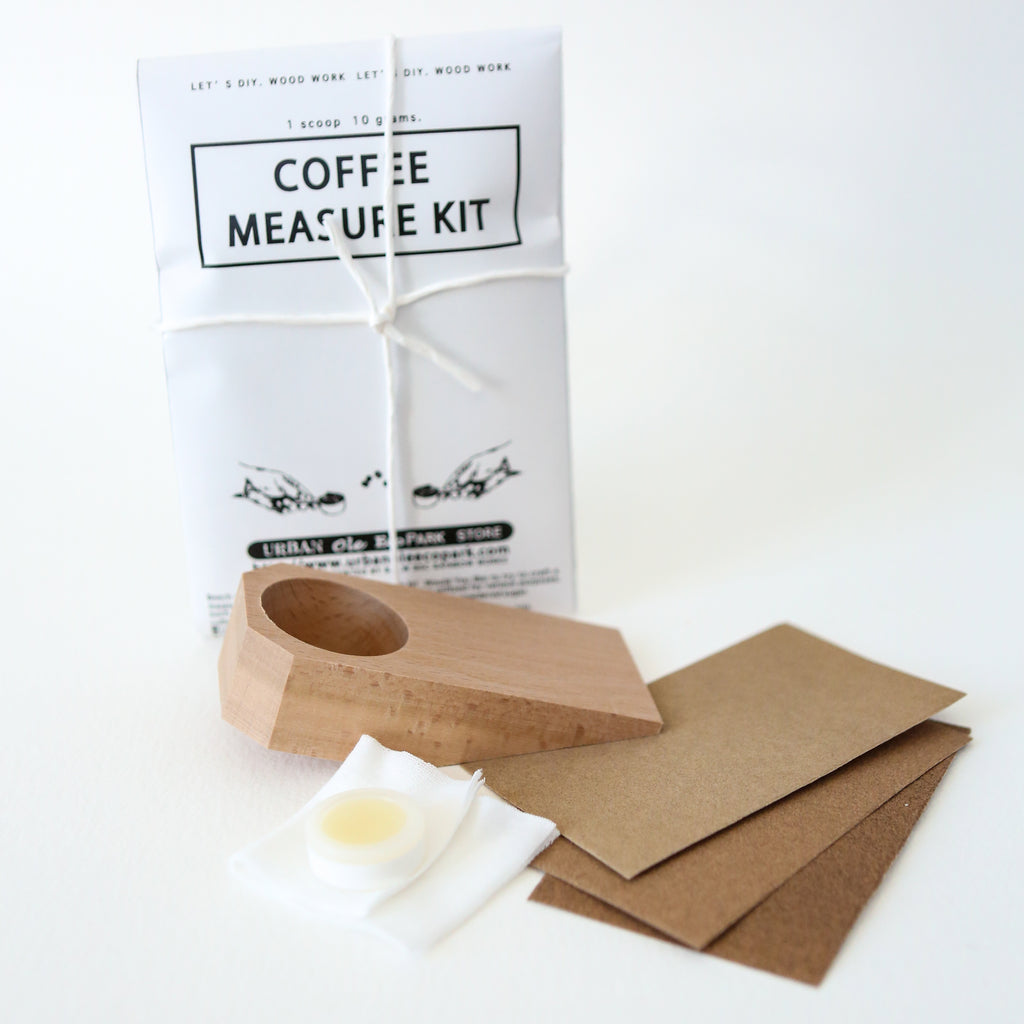 Japanese Coffee Measure Carving Kit