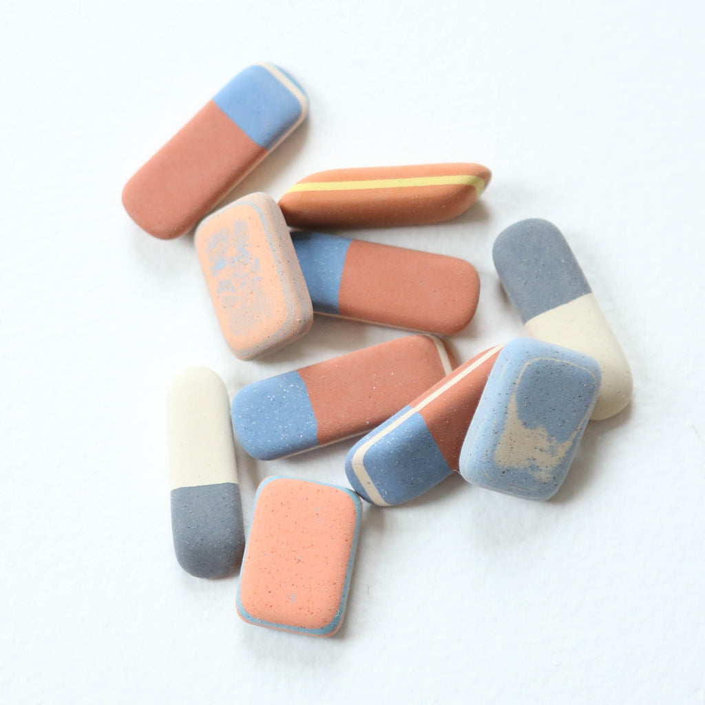 Pack of Pebble Erasers