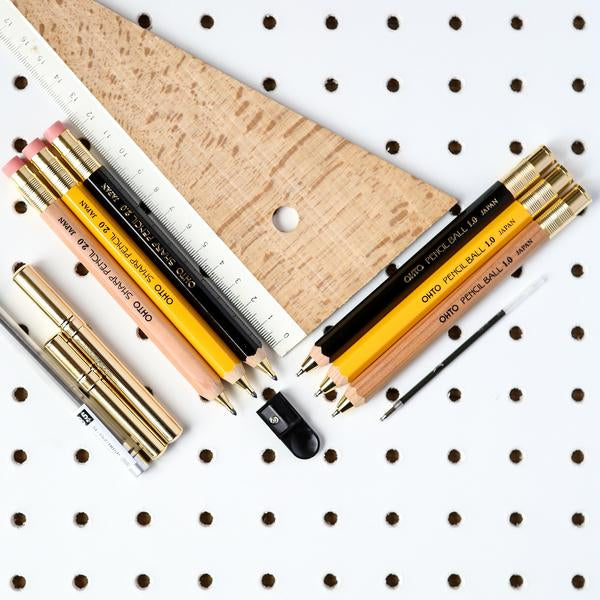 "Ohto ""Sharp Pencil""  2mm Mechanical Pencil - Yellow"