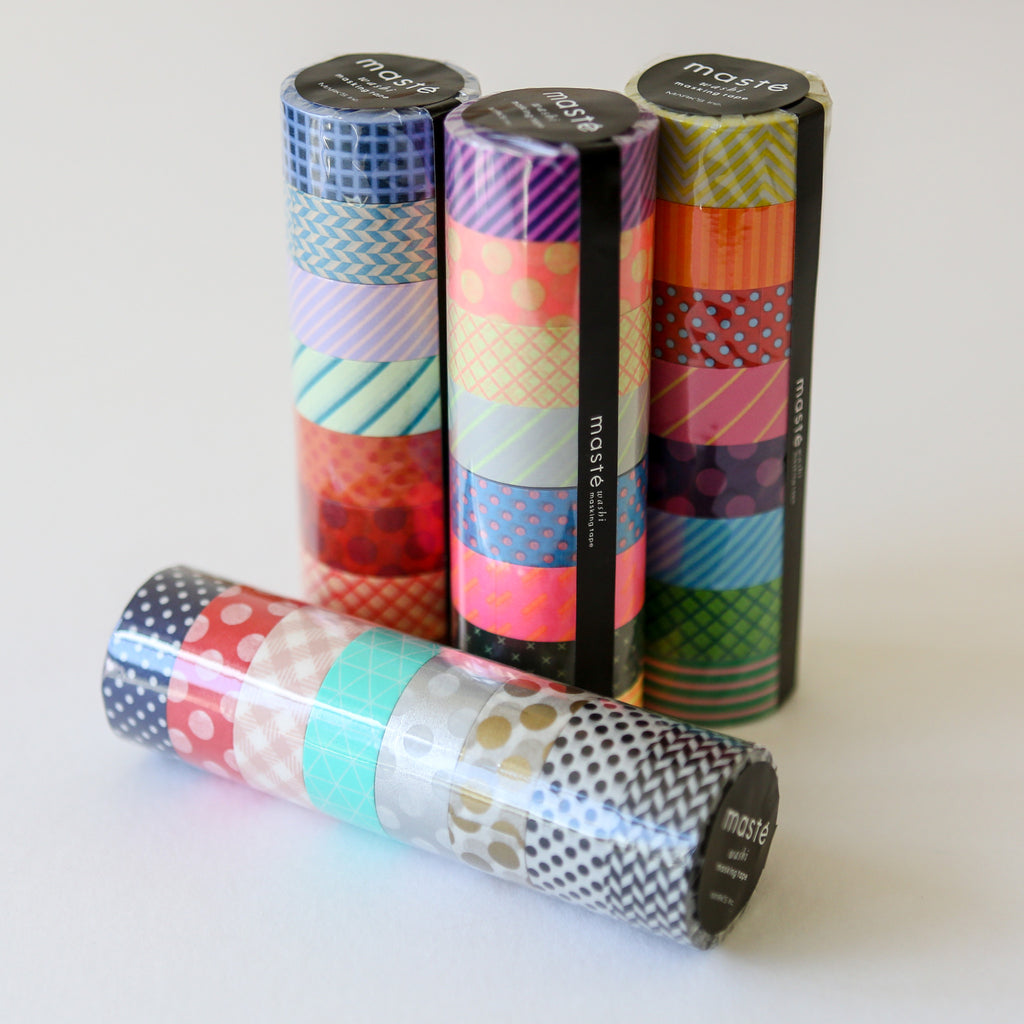 Patterned Washi Tape Stack