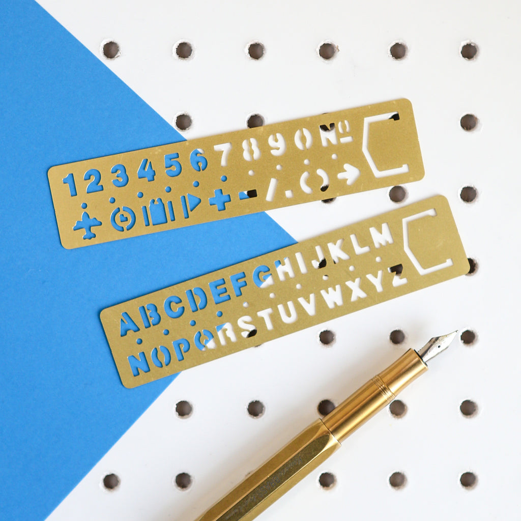 Brass Stencil Bookmark