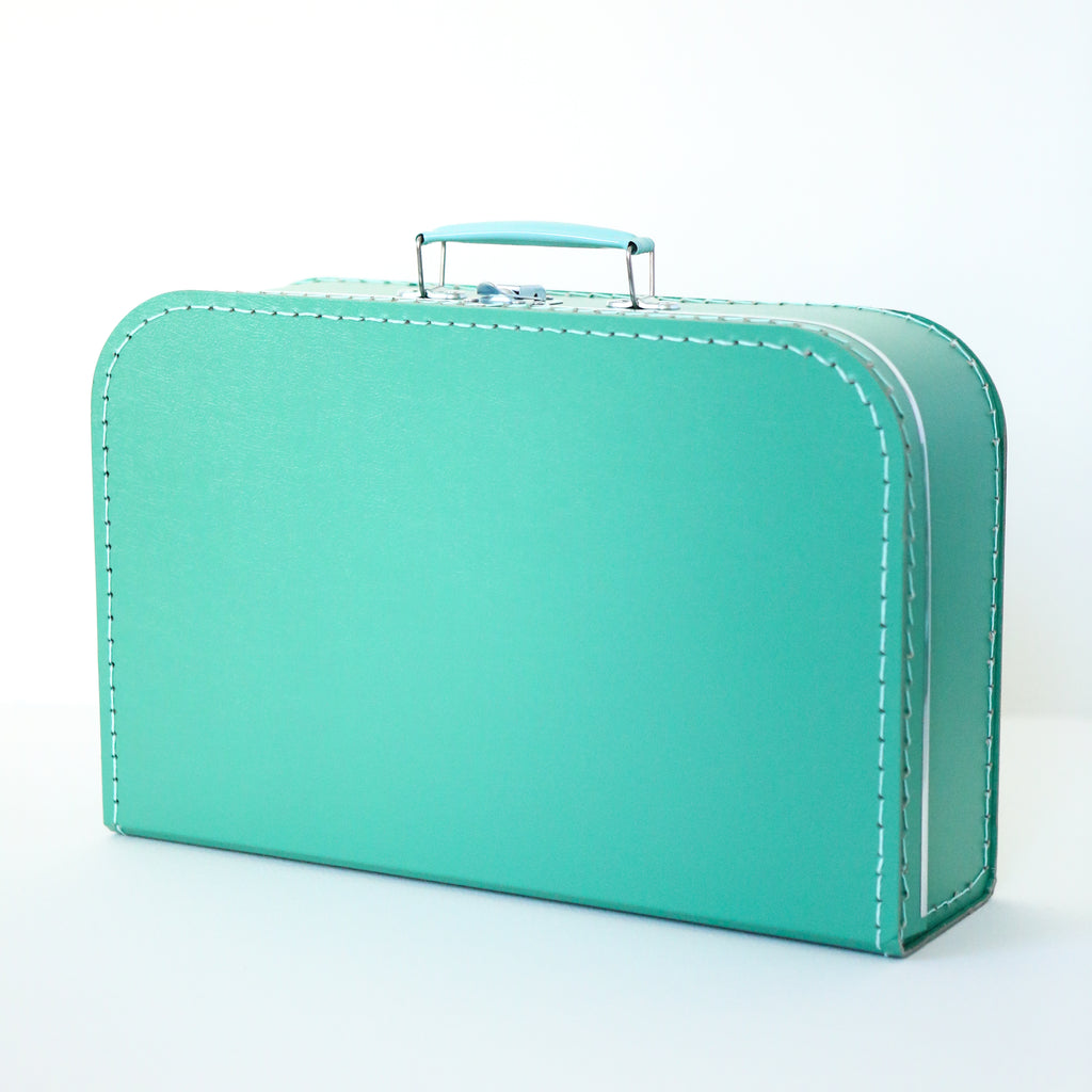 Large Mint Suitcase