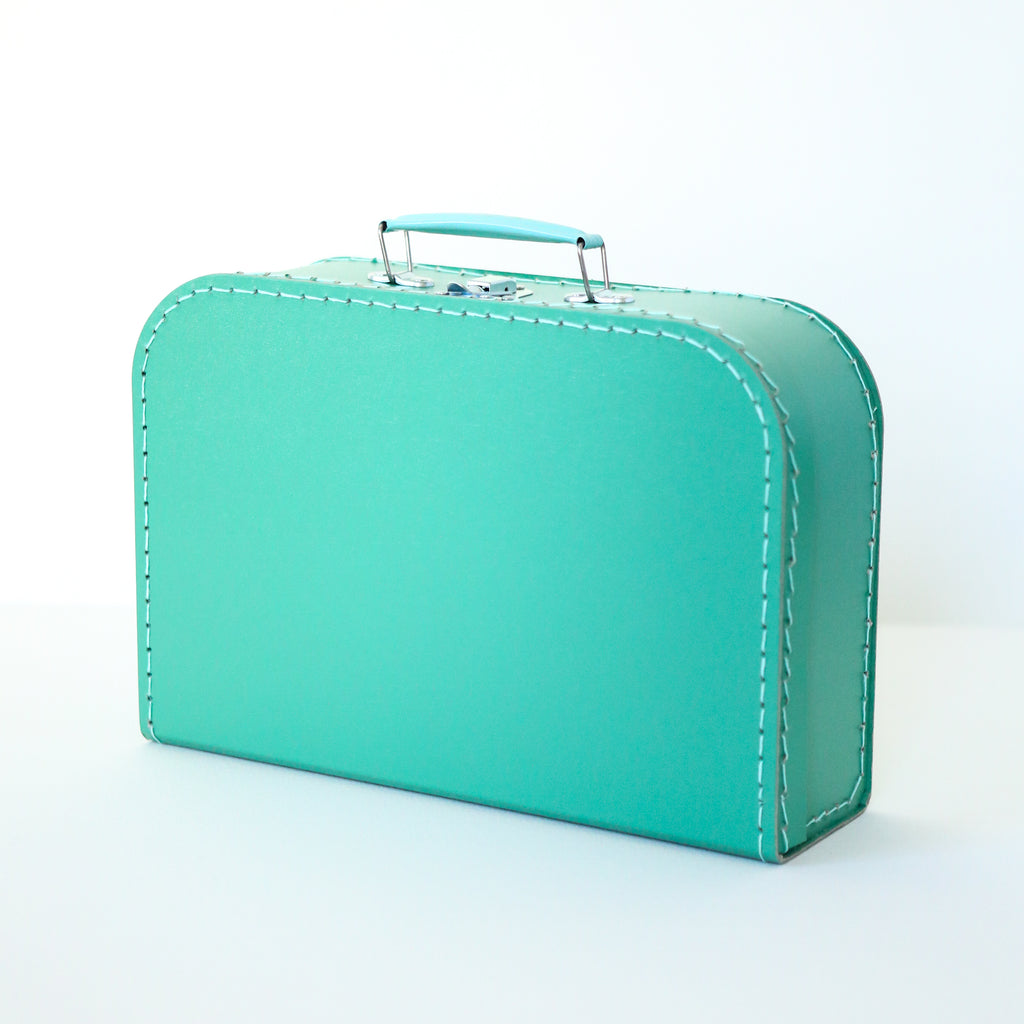 Medium Mint Suitcase