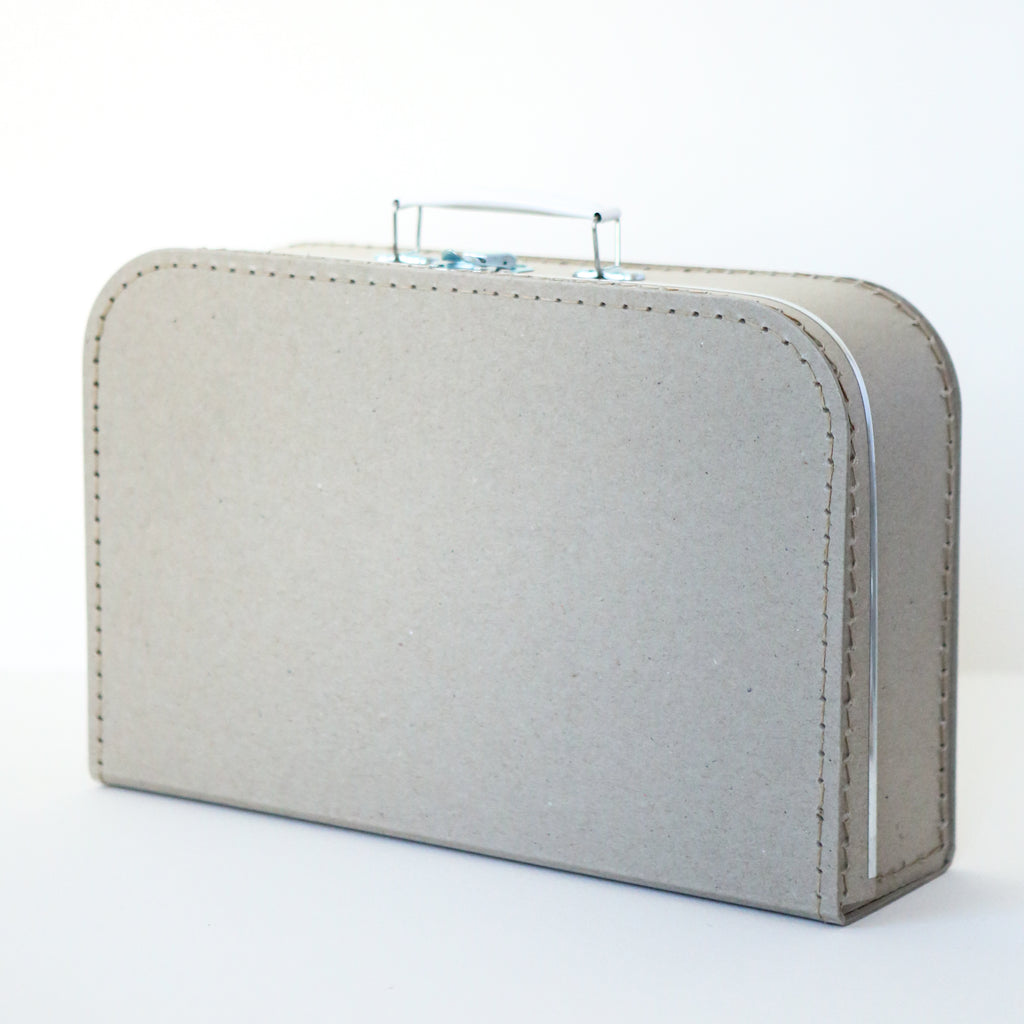 Large Grey Board Suitcase