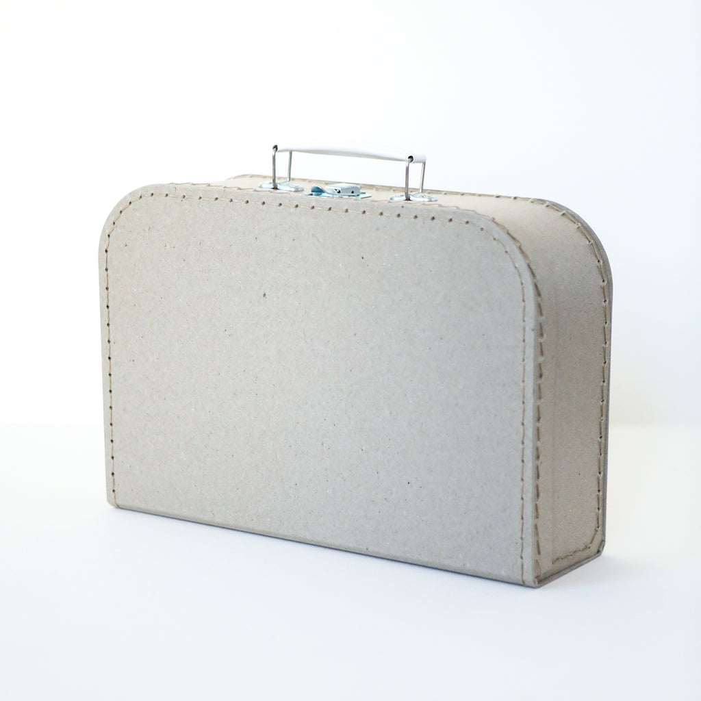 Medium Grey Board Suitcase
