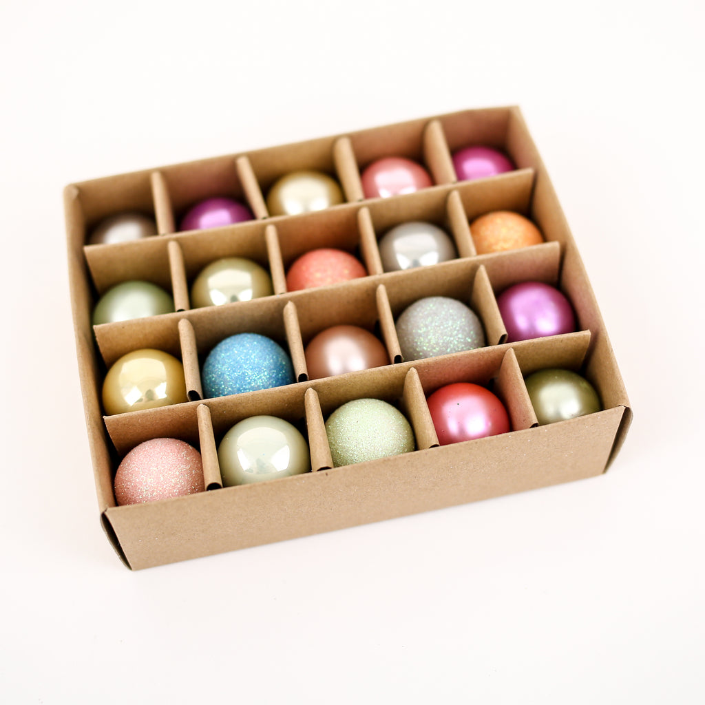 Box of 20 Tiny Ornaments