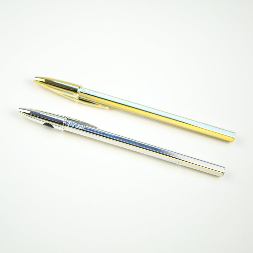 Blingy Gold or Silver BIC Pen