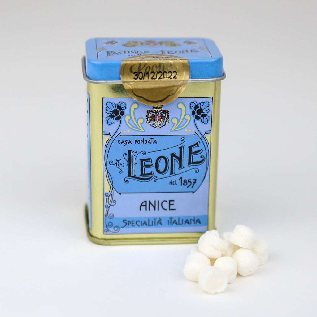 Leone Anise Pastilles in a Tin