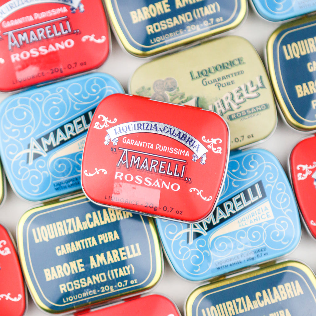 Little Red Tin of Amarelli Rossano Pure Liquorice