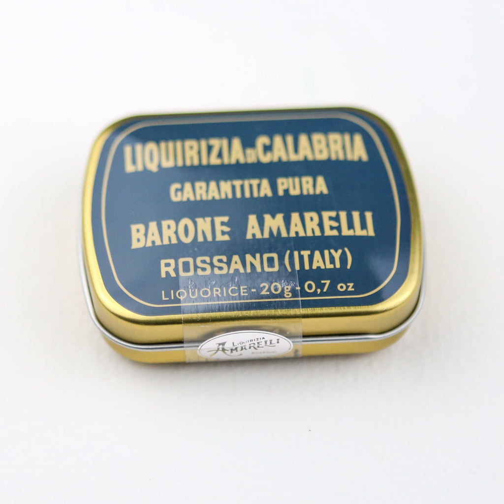 Little Barone Tin of Amarelli Rossano Pure Liquorice