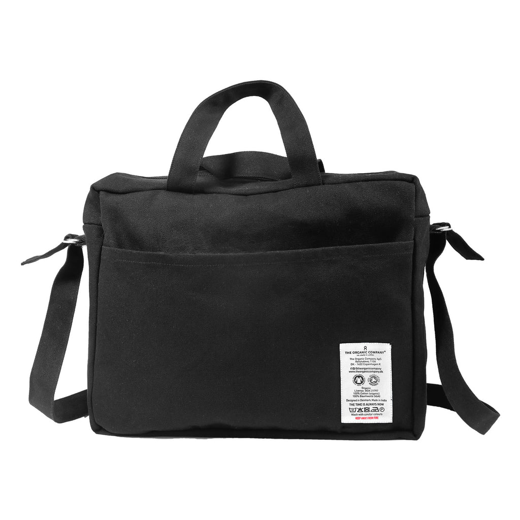 The Organic Cotton Care Bag - Black