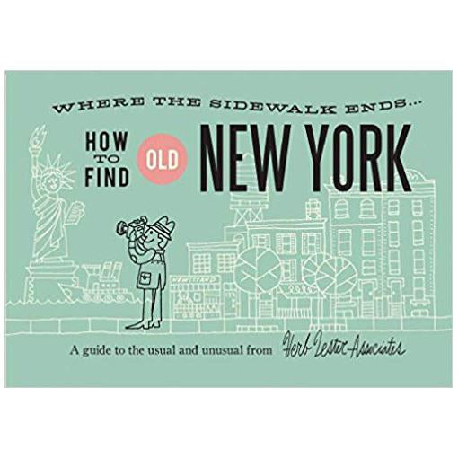 ** Travel Guide Map - Old New York