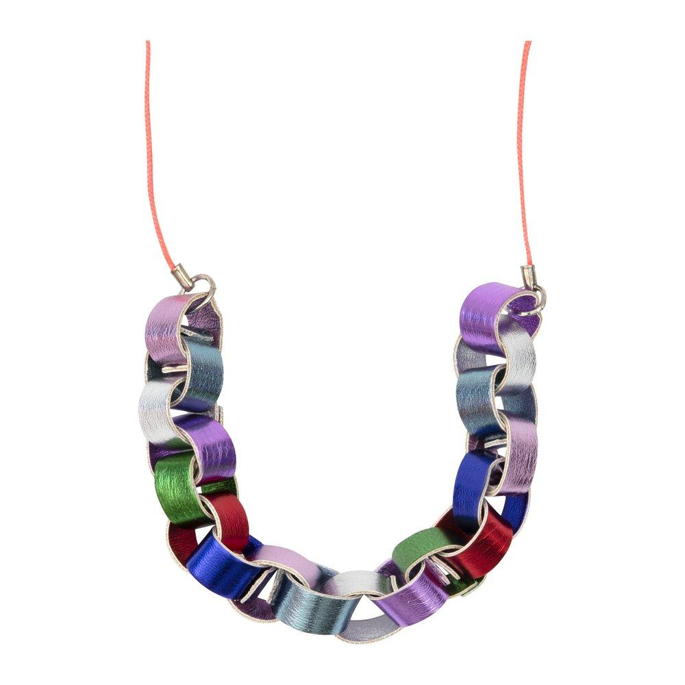 Festive Paper Chain Necklace