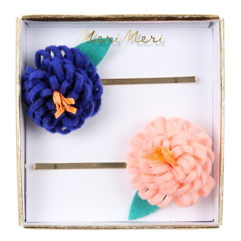 Flower Posey Hair Slides